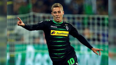 Thorgan Hazard, penyerang milik Borussia Monchengladbach. - INDOSPORT
