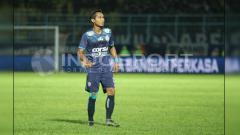 Indosport - Hendro Siswanto, gelandang Arema FC.