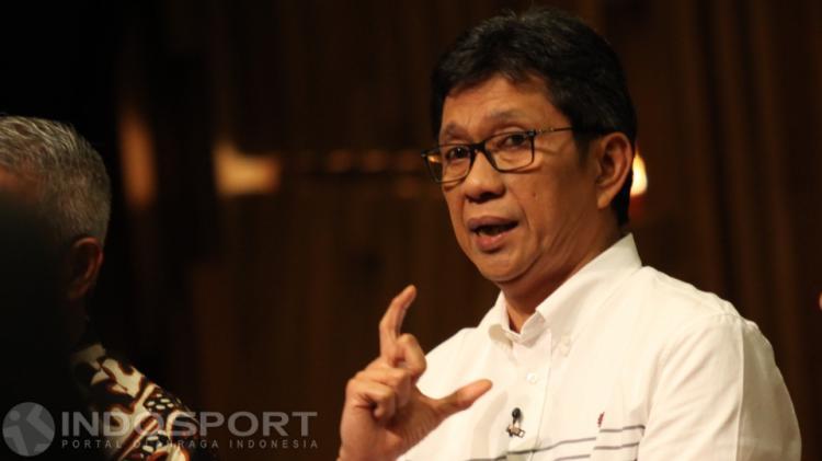 Acara Debat Caketum PSSI Periode 2016-2020 Copyright: Herry Ibrahim/INDOSPORT