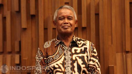 Ketua Umum PSSI Periode 2014-2016, Djohar Arifin Husin. - INDOSPORT