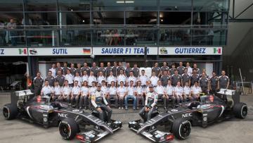 Tim Sauber Formula 1.