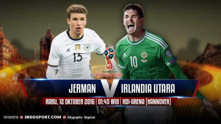 Jerman vs Irlandia Utara - INDOSPORT