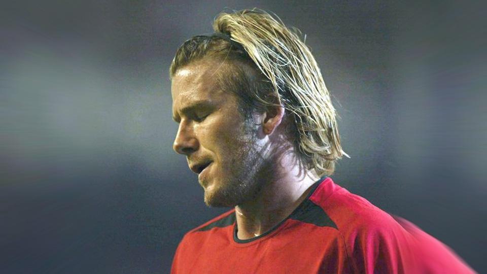 David Beckham (Manchester United) Copyright: Internet