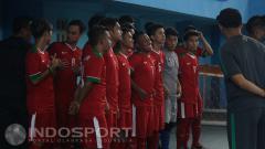 Indosport - Pemusatan Latihan Timnas Futsal Indonesia di Surabaya