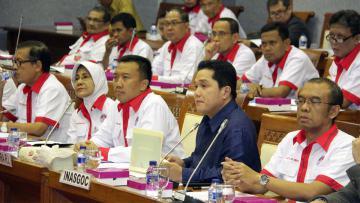Erick Thohir dipanggil Polisi sebagai saksi dugaan kasus korupsi dana sosialisasi Asian Games.