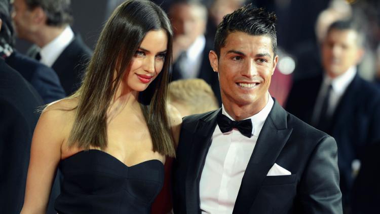 Cristiano Ronaldo dan Irina Shayk Copyright: Internet