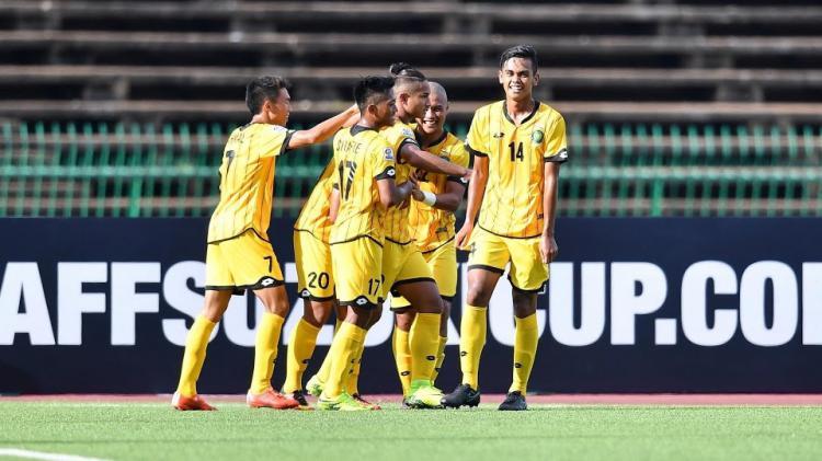 Selebrasi pemain Timnas Brunei Darussalam Copyright: INTERNET
