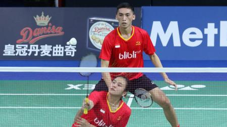 Ronald Alexander/Melati Daeva Oktavianti dikalahkan pasangan China, Zheng Siwei/Chen Qingchen. - INDOSPORT