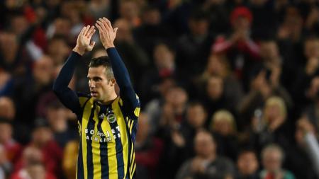 Robin van Persie berencana menghabiskan karier di Feyenoord. - INDOSPORT