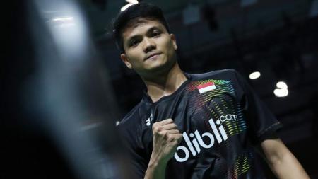 Pebulutangkis ganda putra Indonesia, Ricky Karanda Suwardi di Denmark Open 2016. - INDOSPORT