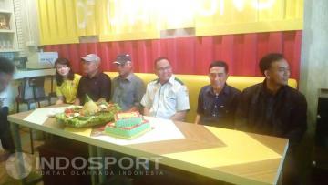 Manajemen klub Sriwijaya FC.