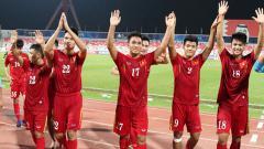 Indosport - Pemain Timnas Vietnam U-19.