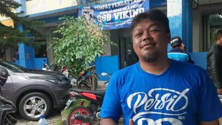 Pengurus Viking Persib Club, Yana Umar. - INDOSPORT