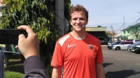 Mantan striker asing Persija Jakarta, Rodrigo Tosi. - INDOSPORT