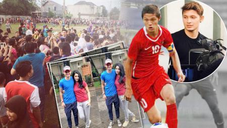Sempat diharapkan sebagai penyerang masa depan Tim Nasional Indonesia, Syamsir Alam kini bermain di liga antar kampung. - INDOSPORT