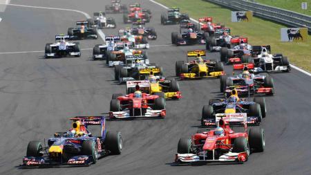 Situasi balapan Formula 1. - INDOSPORT