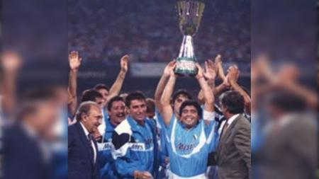 Napoli juara Piala Super Italia tahun 1990 - INDOSPORT