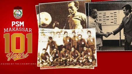 101 Tahun PSM Makassar. - INDOSPORT