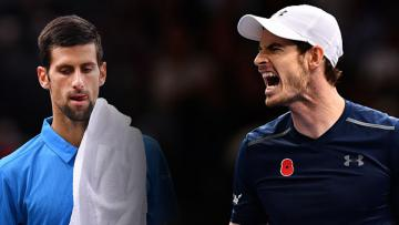 Novak Djokovic dan Andy Murray.
