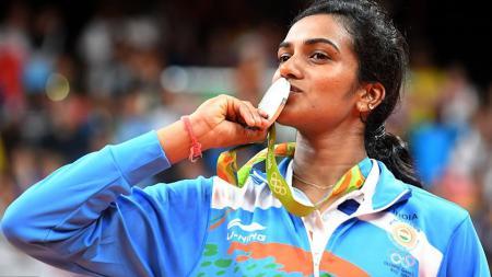 Atlet bulutangkis terbaik India, Pusarla Venkata Sindhu. - INDOSPORT