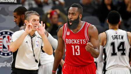James Harden (point guard Houston Rockets). - INDOSPORT