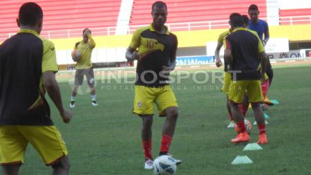 Hilton Moreira menyatakan siap untuk membawa Sriwijaya FC raih kemenangan perdana di Liga 1. - INDOSPORT