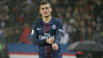 Marco Veratti pada laga antara Paris Saint-Germain dan Olympique Marseille (23/10/16).