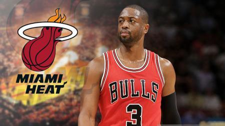 Dwayne Wade kembali ke Miami. - INDOSPORT