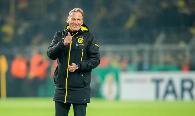 Hans-Joachim Watzke, petinggi Borussia Dortmund. Copyright: INTERNET