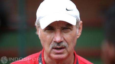 Pelatih Timnas Senior Indonesia, Alfred Riedl. - INDOSPORT