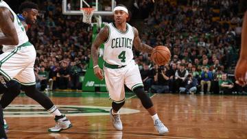 Pemain Boston Celtics, Isaiah Thomas.