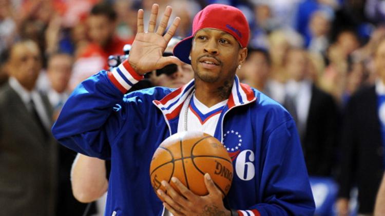 Mantan pemain Philadelphia 76ers, Allen Iverson Copyright: INTERNET