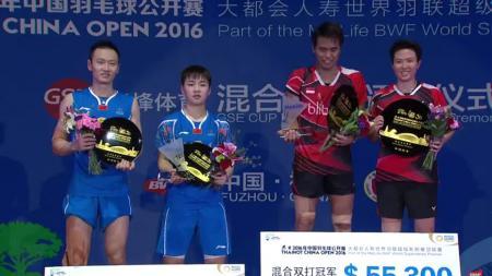 Owi/Butet menjuarai China Open Super Series Premier 2016. - INDOSPORT