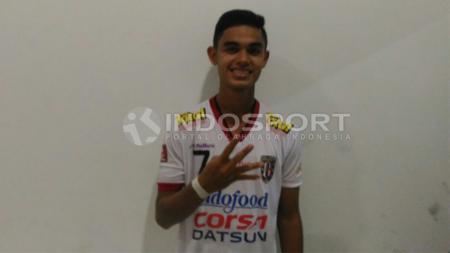 Persiraja Banda Aceh resmi mendapatkan Miftahul Hamdi untuk kompetisi Liga 1 2020. Winger muda Bali United itu didatangkan dengan tebusan. - INDOSPORT