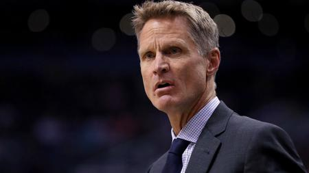 Pelatih Golden State Warriors, Steve Kerr. - INDOSPORT