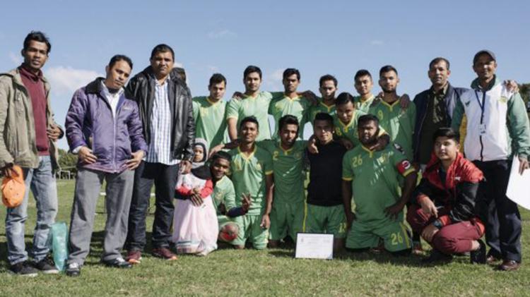 The Lakemba Roos, salah satu klub sepakbola etnis Rohingya di Australia. Copyright: INTERNET