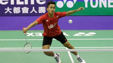 Pebulutangkis muda Indonesia, Anthony Ginting. - INDOSPORT