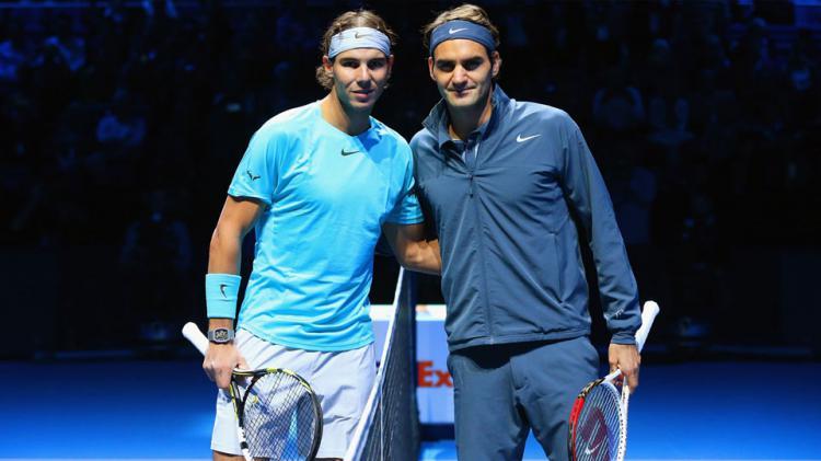 Rafael Nadal vs Roger Federer Copyright: INDOSPORT