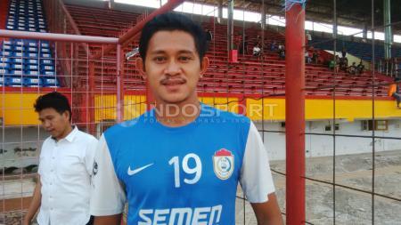 Berbagai macam cara dilakukan oleh setiap pemain PSM Makassar saat menjalani masa libur Liga 1 2020 akibat pandemi virus corona, salah satunya Rizky Pellu. - INDOSPORT
