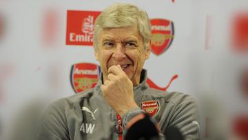 Arsene Wenger dalam konferensi pers (03/11/16).