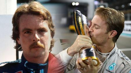 Keke Rosberg (yah) dan Nico Rosberg (anak) adalah pembalap Formula 1. - INDOSPORT