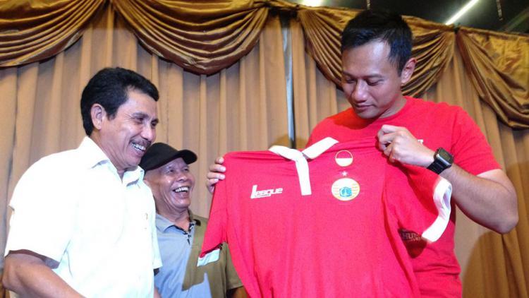 Calon Gubernur DKI Jakarta, Agus Harimurti Yudhoyono. Copyright: Gerry Anugrah/Indosport