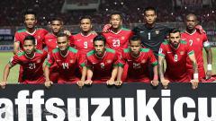 Indosport - Formasi timnas Indonesia aroma Piala AFF 2016 yang bisa kalahkan Vietnam pada matchday 4 Kualifikasi Piala Dunia 2022 Grup G, Selasa (15/10/19).