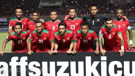 Formasi timnas Indonesia aroma Piala AFF 2016 yang bisa kalahkan Vietnam pada matchday 4 Kualifikasi Piala Dunia 2022 Grup G, Selasa (15/10/19). - INDOSPORT