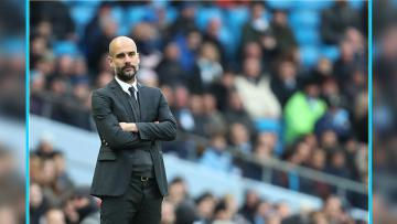 Pep Guardiola, pelatih Man City