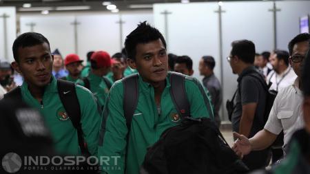 Pelatih klub Liga 1 Bali United, Stefano Cugurra Teco, membantah kehadiran Lerby Eliandry merupakan sinyal lepasnya Ilija Spasojevic. - INDOSPORT