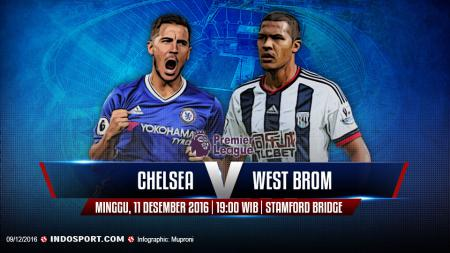 Chelsea vs West Brom - INDOSPORT