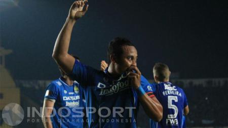 Atep, kapten Persib Bandung. - INDOSPORT