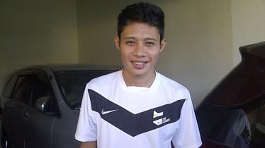 Gelandang Bhayangkara FC, Evan Dimas. - INDOSPORT