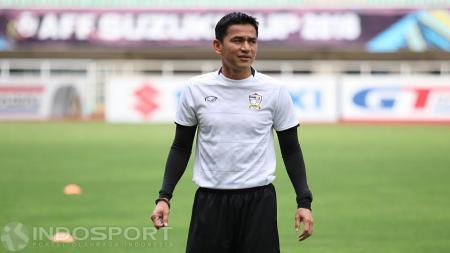Pelatih Thailand, Kiatisuk Senamuang. - INDOSPORT